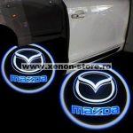 Proiectoare Portiere cu Logo Mazda