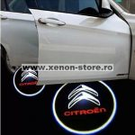 Proiectoare Portiere cu Logo Citroen