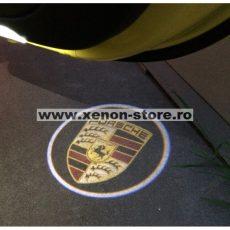 Proiectoare Portiere cu Logo Porsche