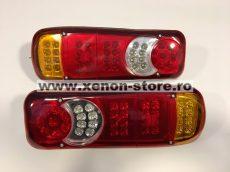 Set 2 Stopuri LED camion 24V cu 5 functii #061