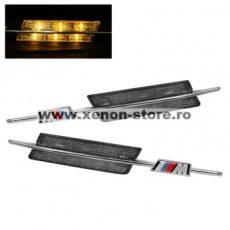 Semnalizari Aripa Led Aspect Smoke BMW E90, E91, E60, E61, E83, E88